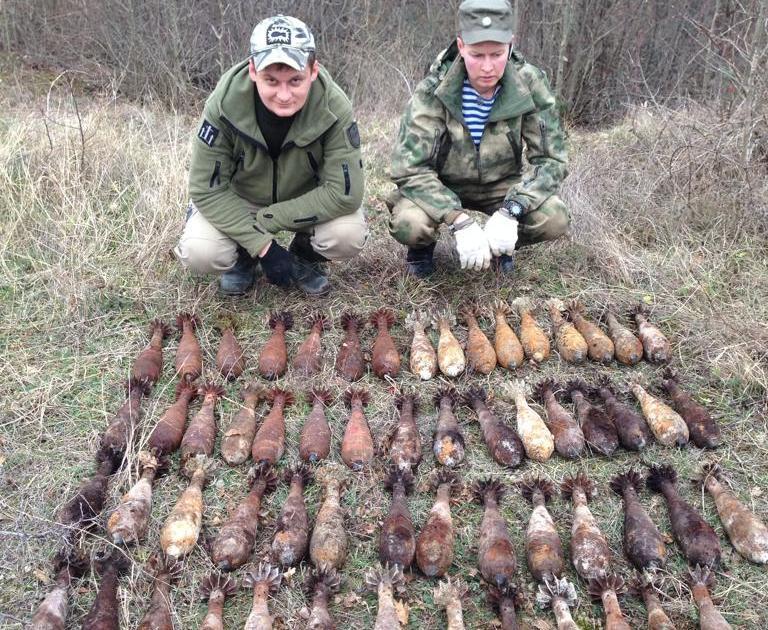 Убегающие румыны бросили в Новороссийске десятки заряженных мин