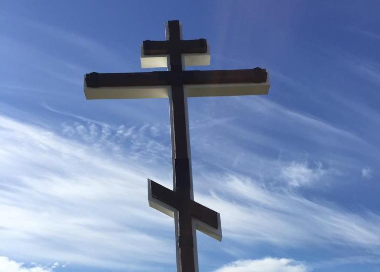 Поклонный крест восстановили под Новороссийском