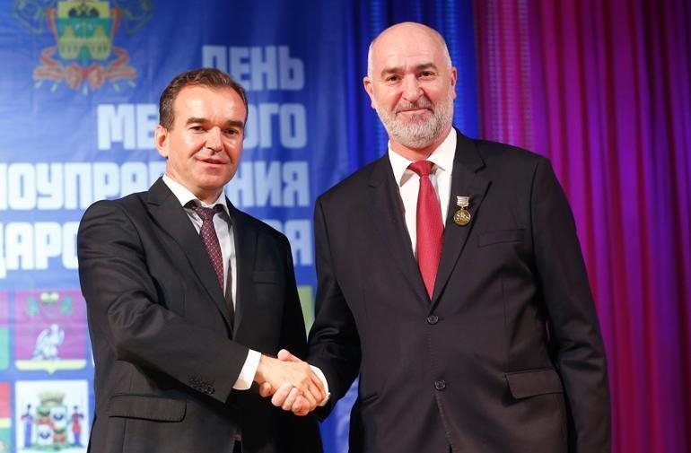 Главу Новороссийска губернатор наградил медалью