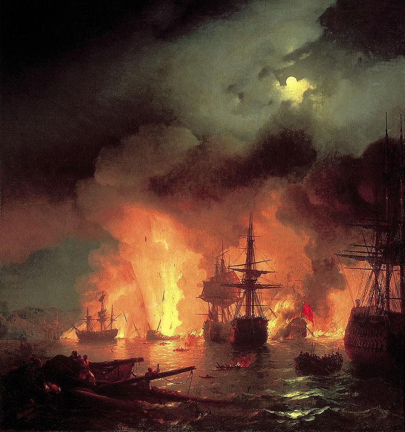 Календарь: 7 июля – годовщина победы в Чесменском сражении