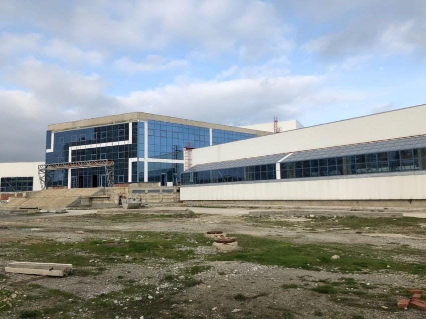 Новороссийцам пообещали достроить дворец олимпийских видов спорта в этом году