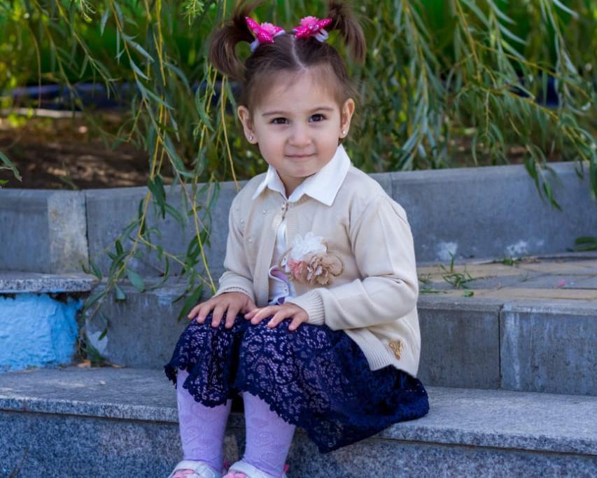 В два года Милолика знает больше десяти стихов