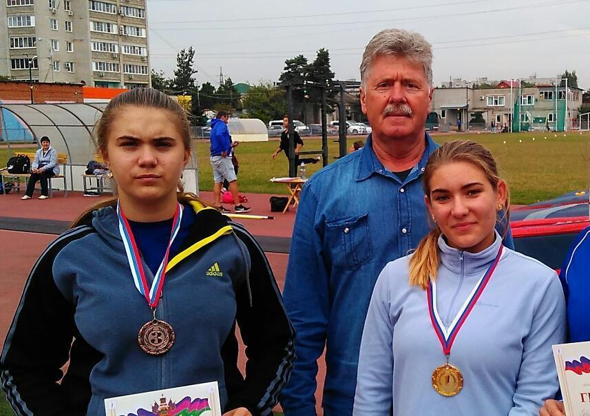 Четыре «золота» и одну «бронзу» завоевали новороссийские спортсмены в Краснодаре