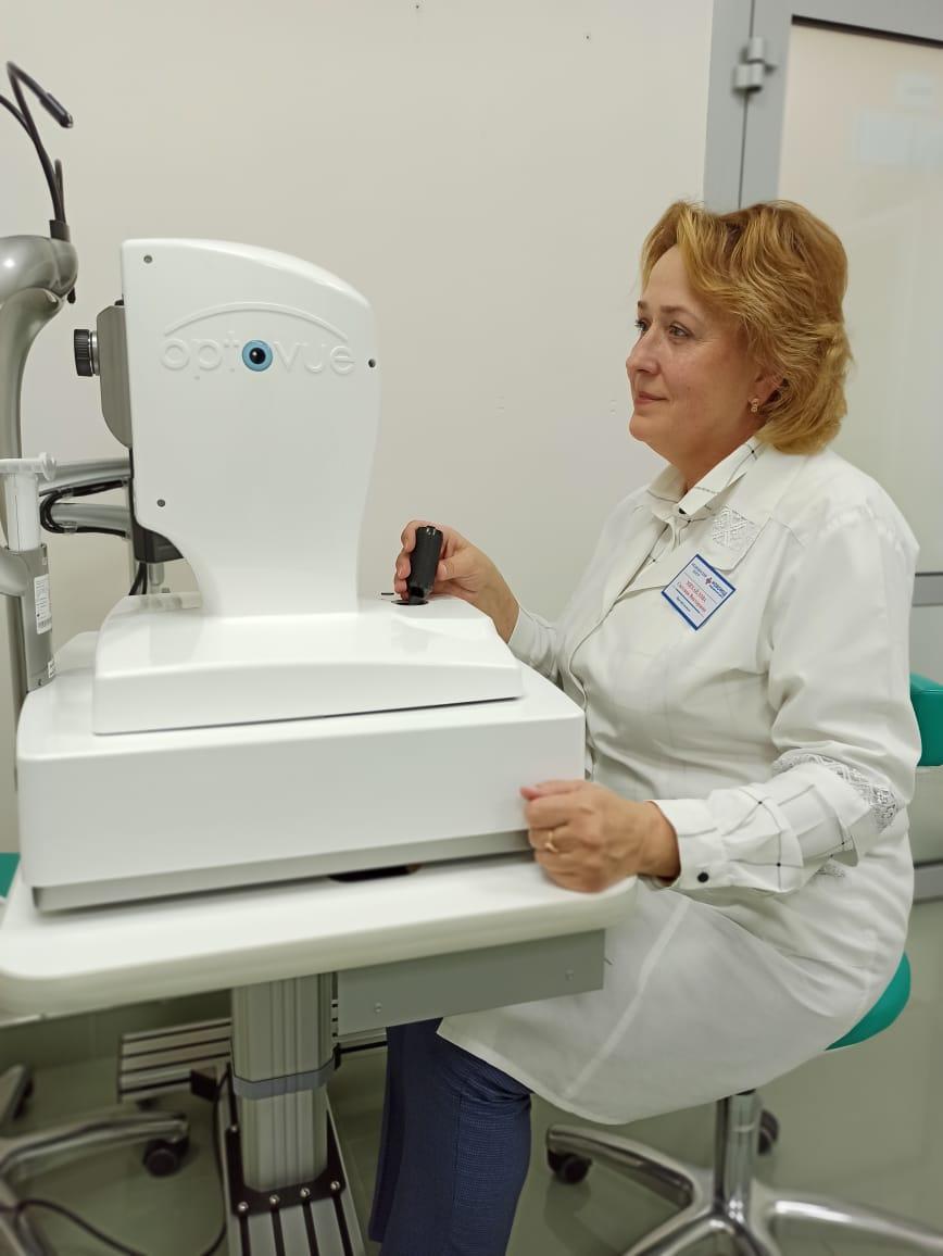 Новое инновационное офтальмологическое оборудование  в МЦ «Новомед»