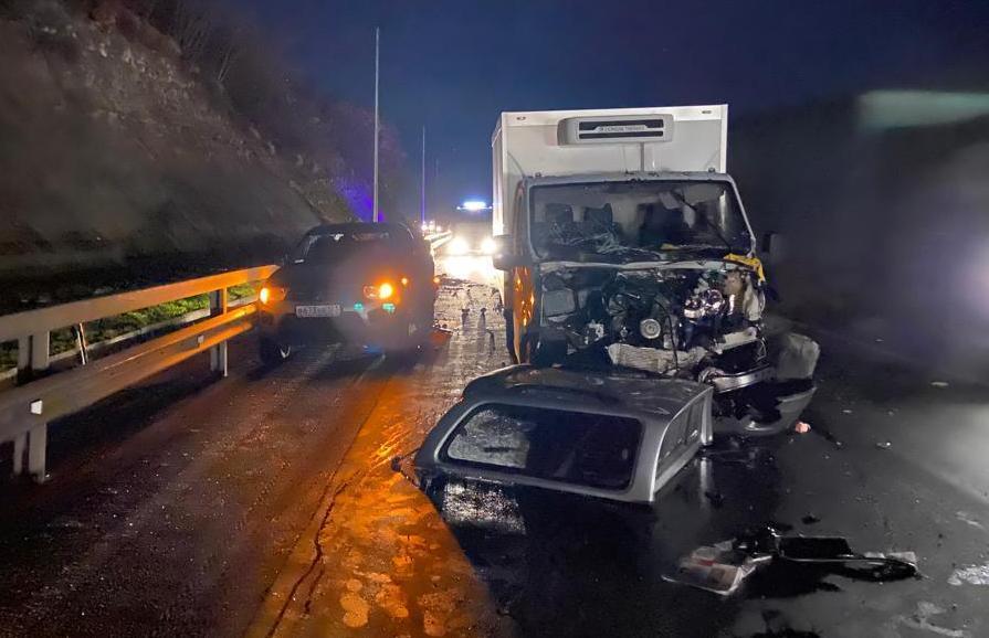 Жесткое ДТП с пострадавшими произошло под Новороссийском