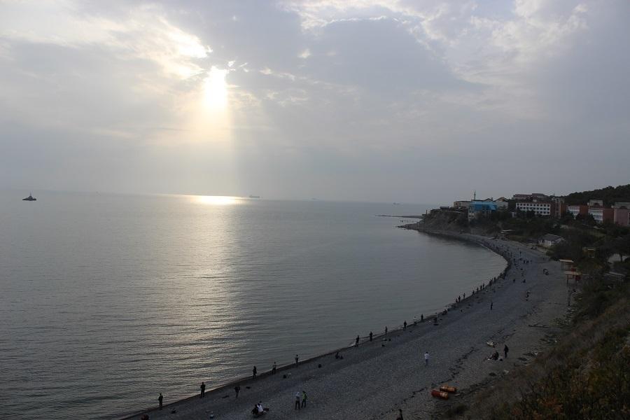 Даже в ноябре Новороссийск попал в десятку курортов