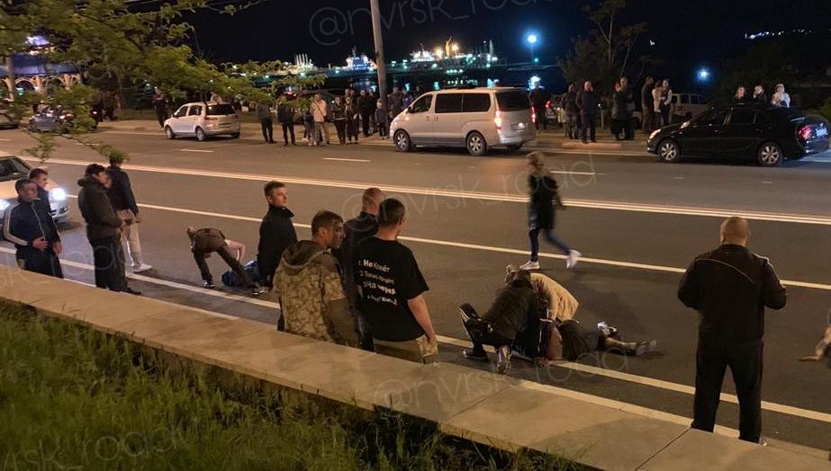 В ночных ДТП новороссийцы ломали кости и машины