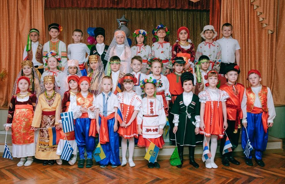 Единство народов показали во второй гимназии Новороссийска