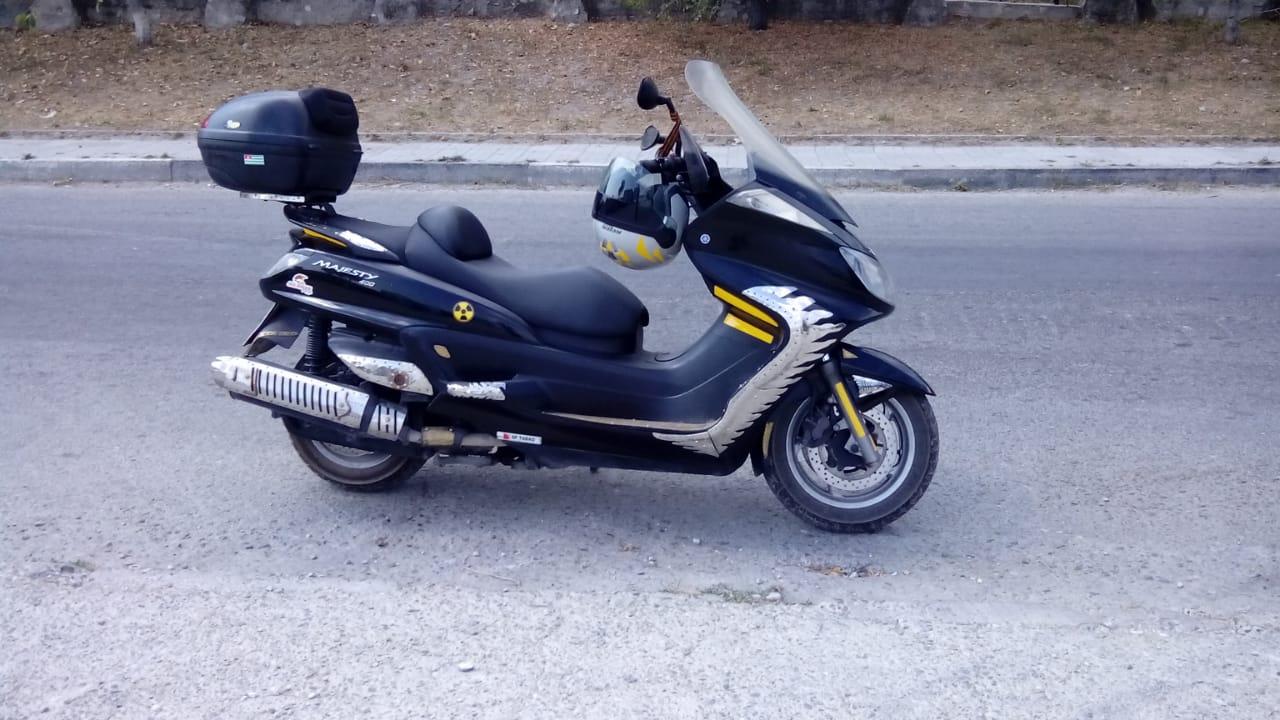 Макси-скутер класса «Люкс» - и никакое путешествие не страшно