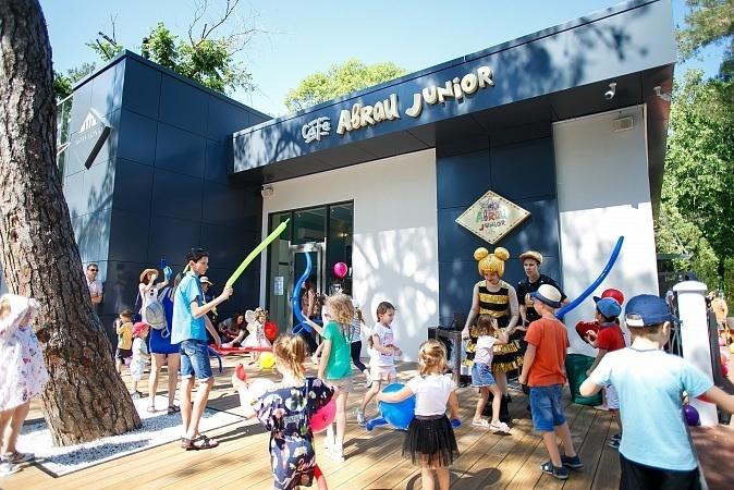 """""""Abrau Junior"""": детское кафе с обширной барной картой"""