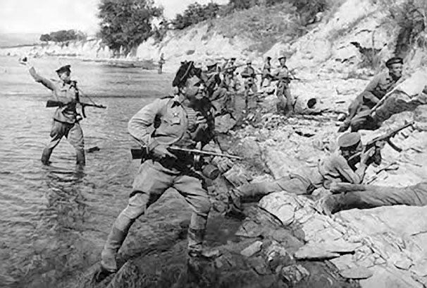 23 апреля 1943 года в Новороссийске. На 75 лет назад