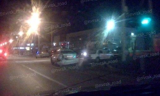 В ДТП собрался паровозик из 4 машин в Новороссийске
