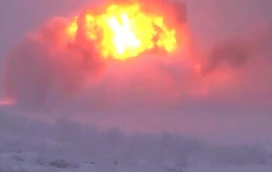 Жуткое видео катастрофы самолета с новороссийским летчиком попало в интернет