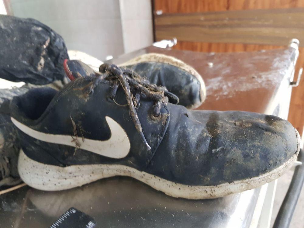 Родственников погибшего в Новороссийске разыскивают по фотографии кроссовок
