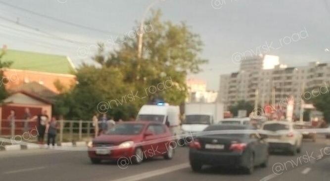 Новороссийцы не могли сойтись во мнении, кого сбил автомобиль.