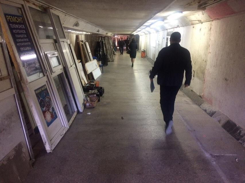 С улицы Советов – и прямо в Турцию! – новороссийцы обсуждают ремонт подземного перехода
