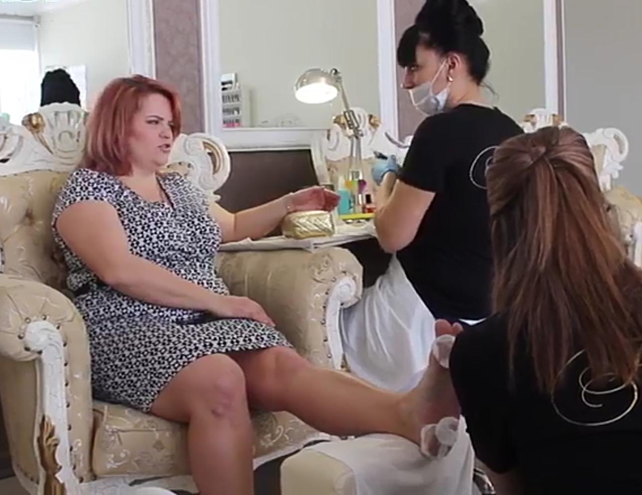 В Новороссийской студии красоты «FRESH»  мастера работают дуэтом в четыре руки