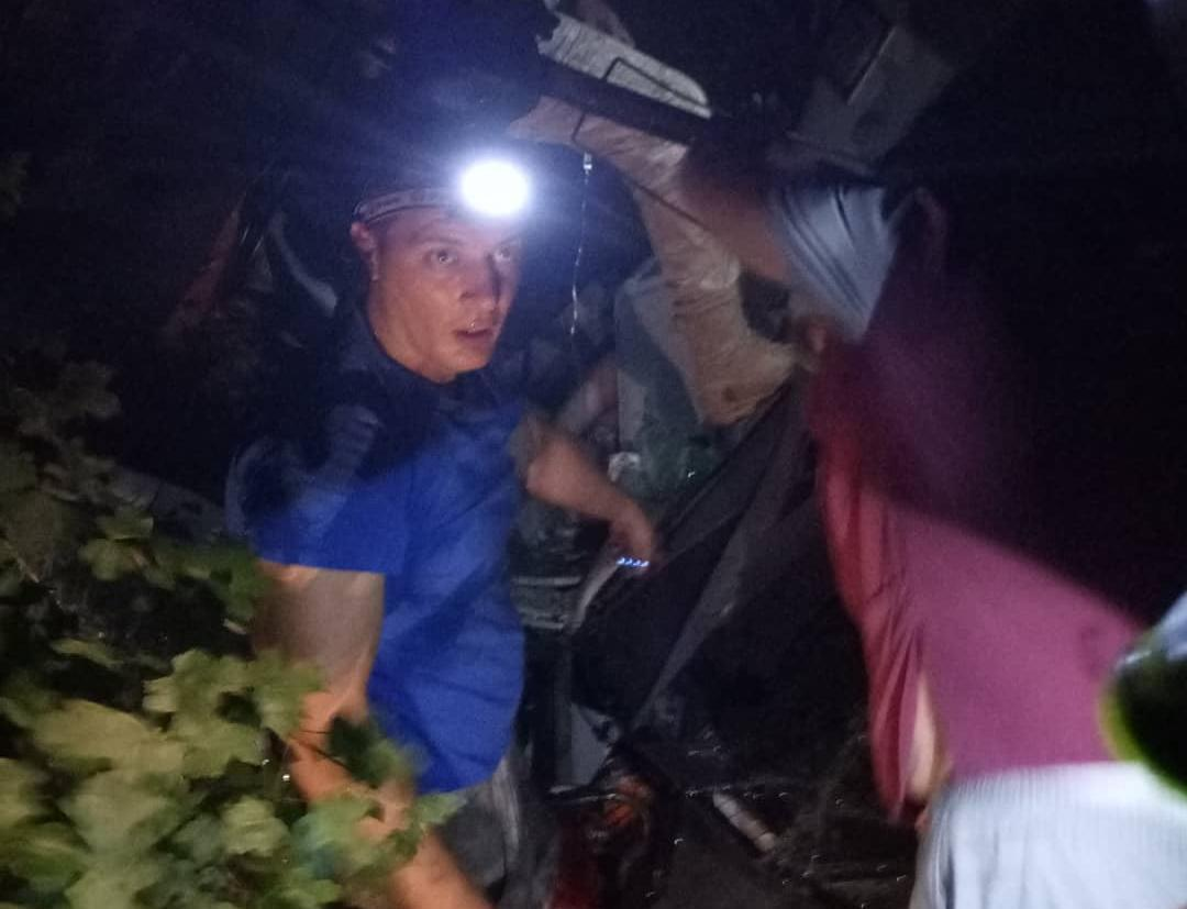 - Первые спасатели прибыли через 30 секунд, - Алексей Одеров рассказал, как всё было