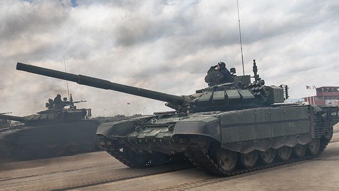 Под Новороссийском идет подготовка к танковому биатлону