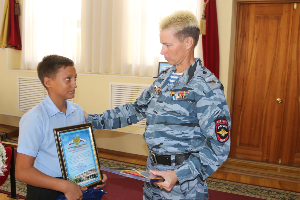 В Новороссийске появился новый герой