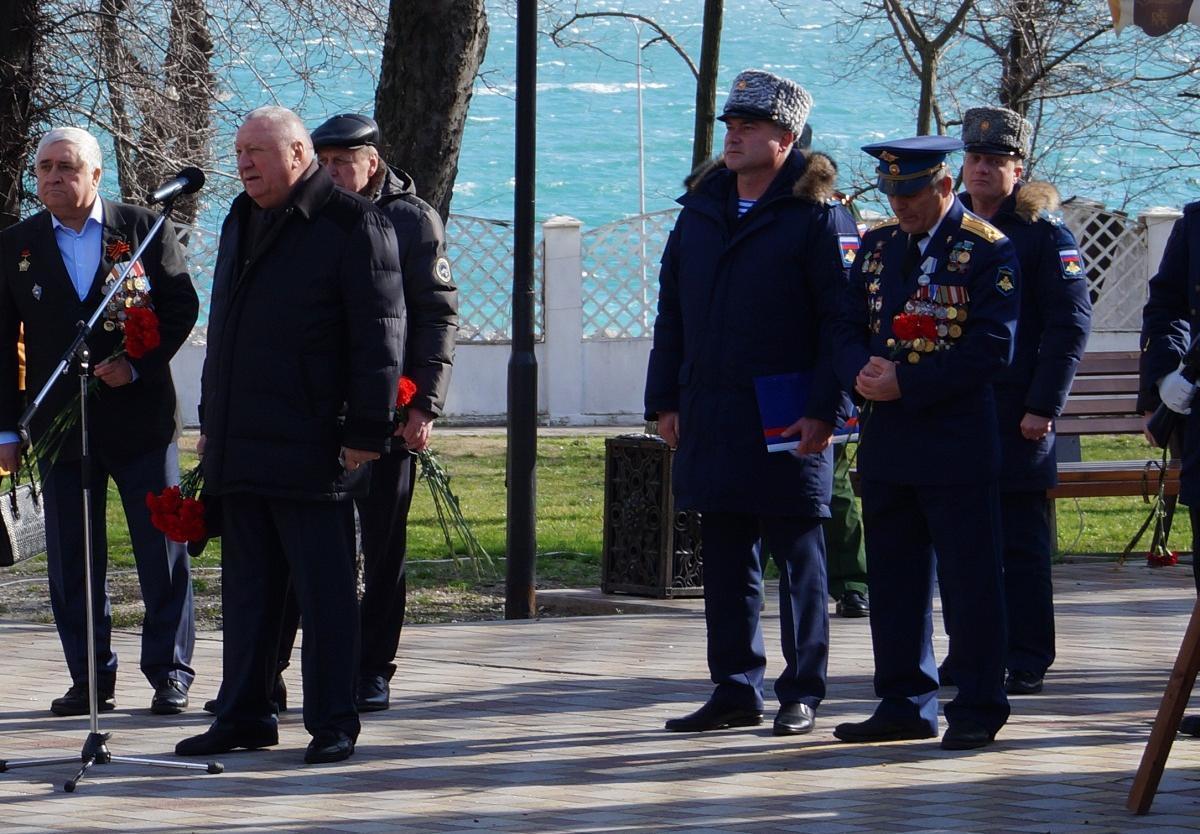 Необъявленная война все еще идет. В Новороссийске почтили память воинов-интернационалистов