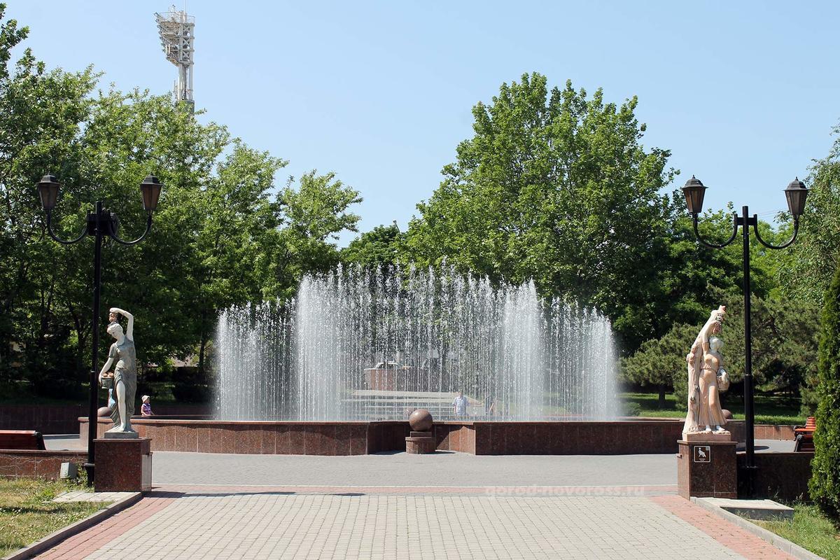 Больше 500 тысяч потратят на фонтаны Новороссийска