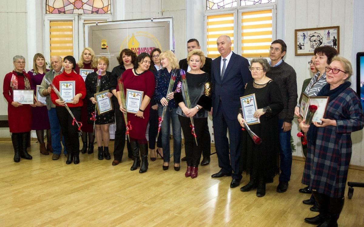 «Акул пера» поздравили с днем печати в Новороссийске
