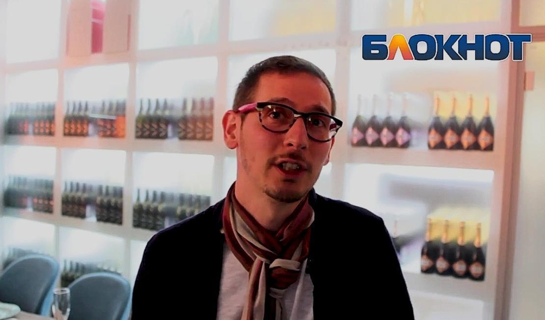 Итальянец Маттео Коллети рассказал о тонкостях виноградных напитков