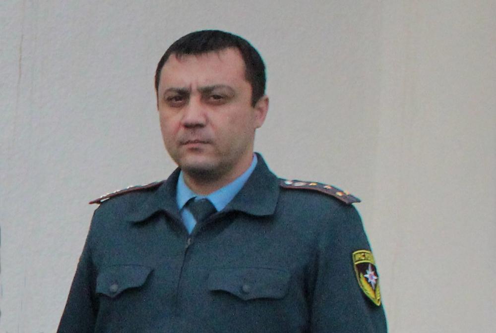 Старший дознаватель отдела надзорной деятельности Дилшод Салахитдинов празднует день рождения