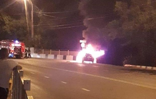 В огне не сгорел  33-летний водитель из Новороссийска