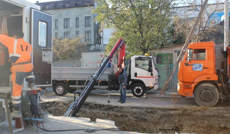 Почти 9 км сетей водопровода было заменено в Новороссийске за последний год. Осталось еще 469 км