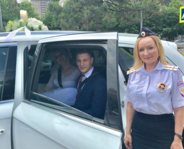 ГИБДД Новороссийска: свадьба – не повод для провоцирования ДТП