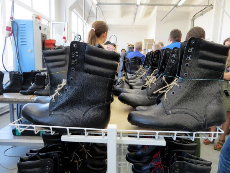 Новый цех обувной фабрики будет запущен в Новороссийске