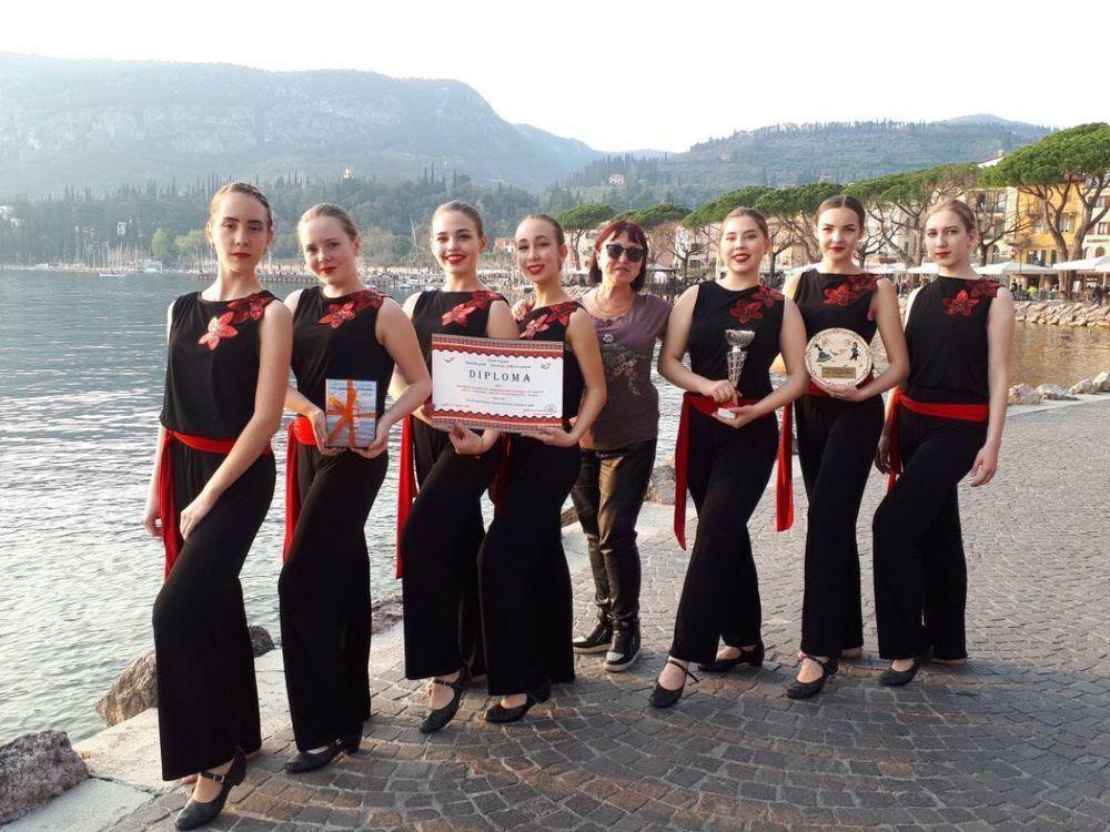 Новороссийский ансамбль «Карусель» привез из Италии Гран-при