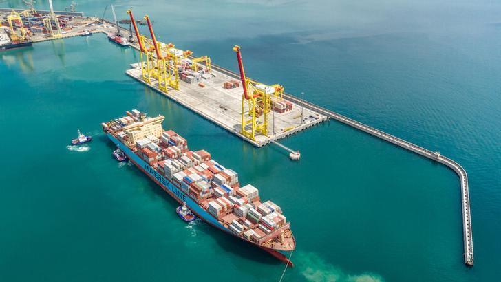 Порт Новороссийска расширяет свои возможности