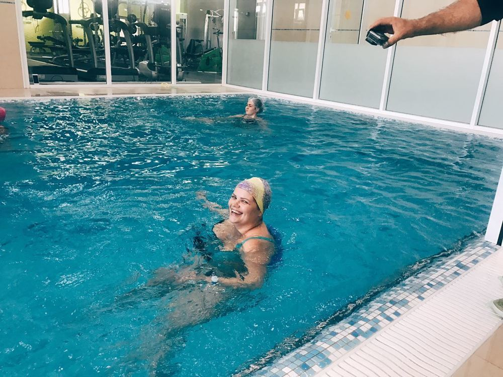 Участница проекта «Преображение» Анастасия Шипилова открыла для себя купальный сезон досрочно