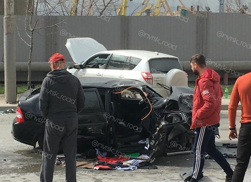 Появилась первая версия причин лобового ДТП в Новороссийске