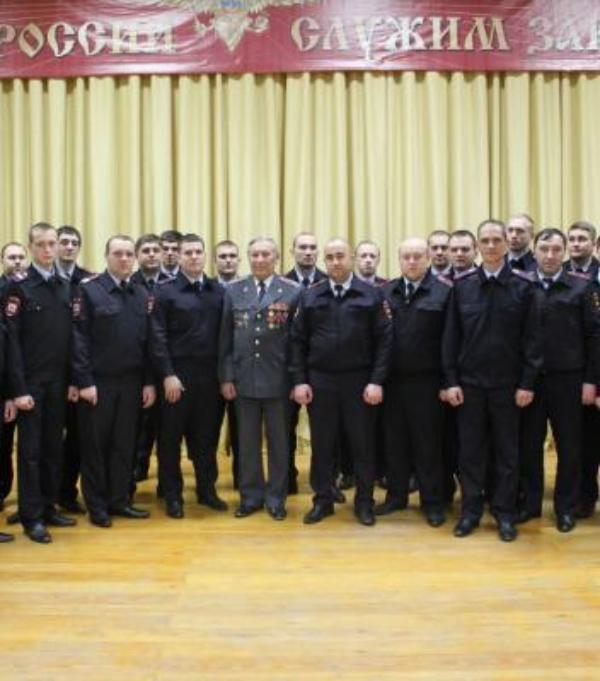В Новороссийске полицейские и общественники принимают активное участие в патриотической акции «Уроки мужества»