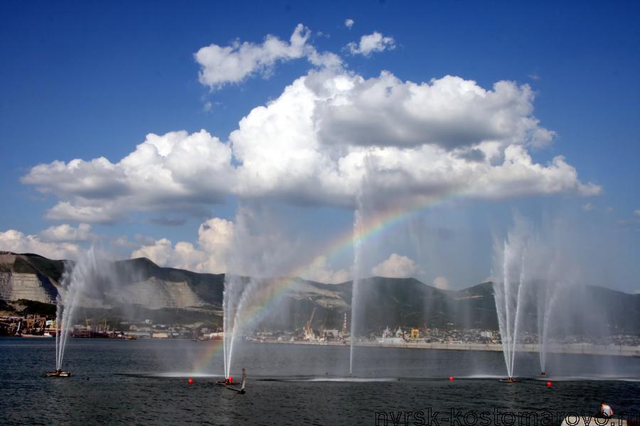 Новороссийский фонтан в морской гавани будет переформатирован в настоящее шоу