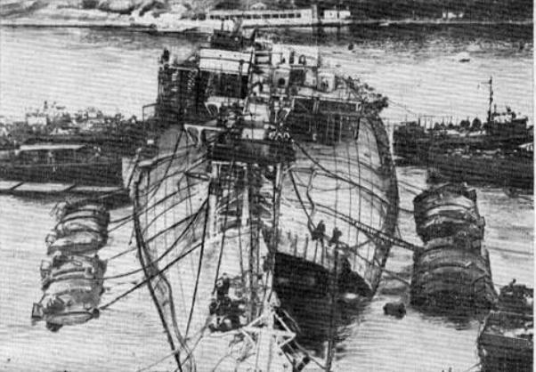 Календарь: 4 мая поднят из воды затонувший линкор «Новороссийск»