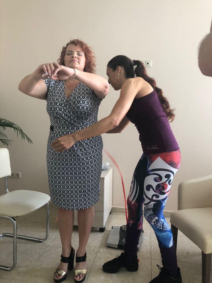 На 33 см стала меньше в объемах Настя Шипилова, участница проекта «Преображение»