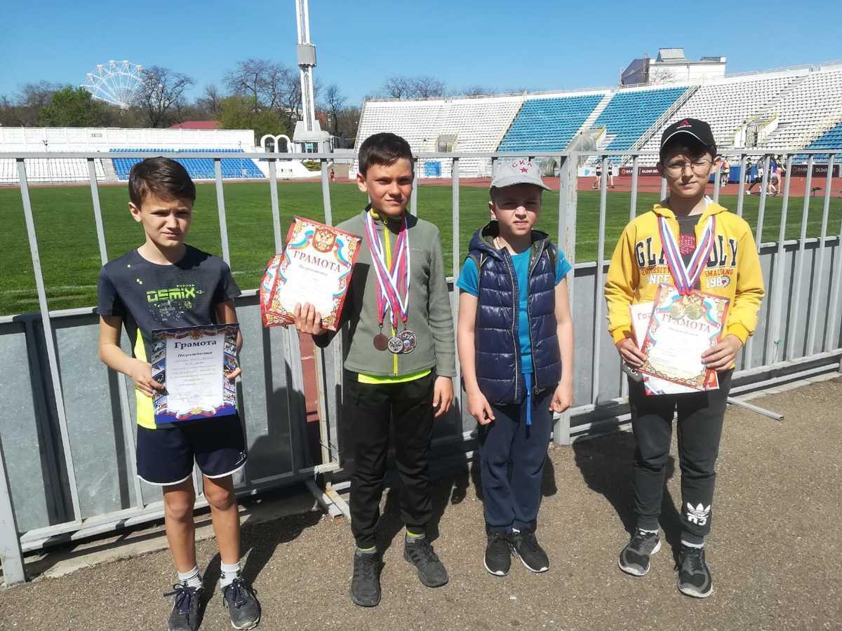 Тринадцать медалей завоевали юные спортсмены из Новороссийска