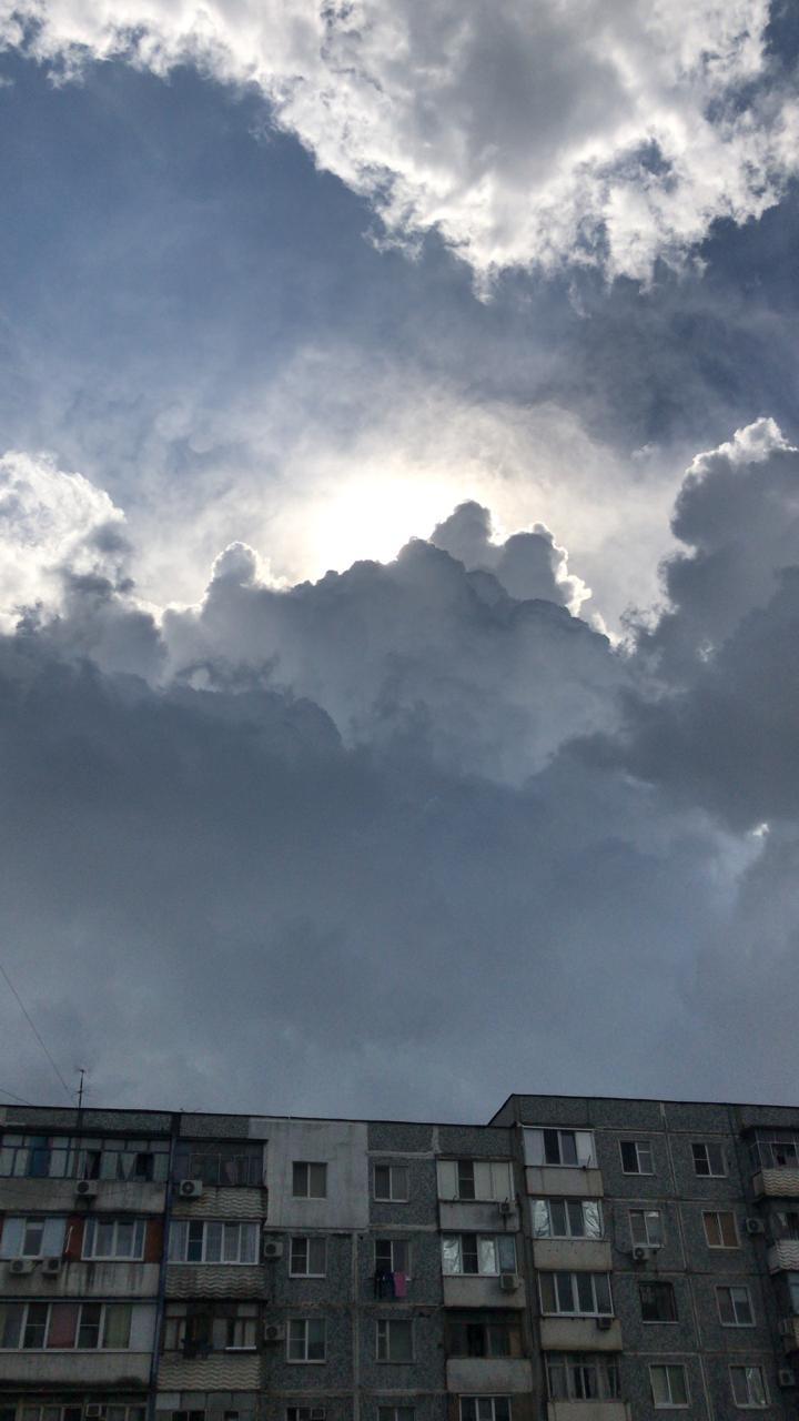 В ближайшие часы возможна резкая смена погоды в Новороссийске