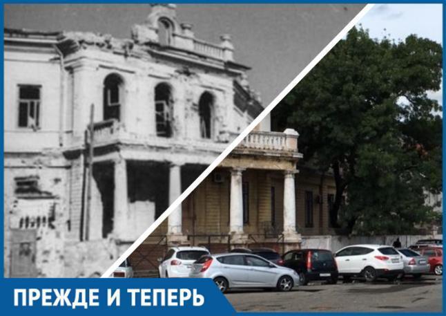 Прежде и теперь. Секретное здание итальянского представительства в Новороссийске