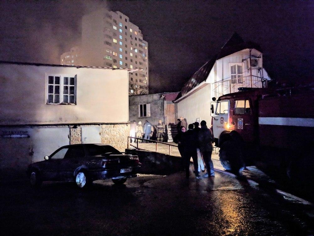 Пожар в подземном гараже ликвидировали в Новороссийске