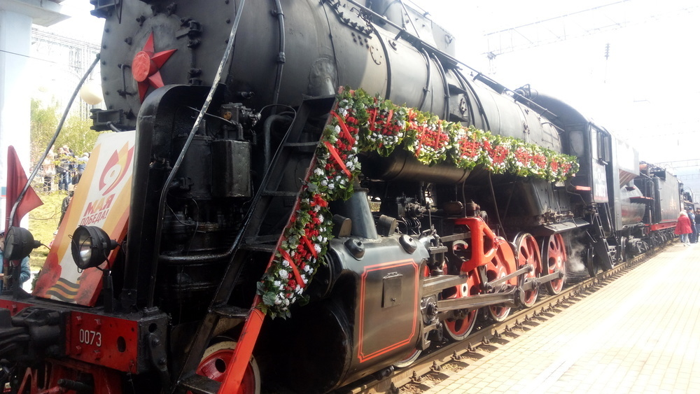 Поезд «Победа» прибыл в Новороссийск