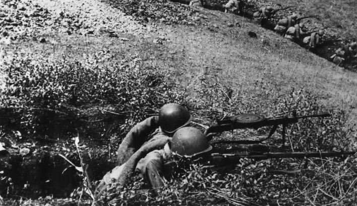 Новороссийск 75 лет назад: у противника остались только собственные потери