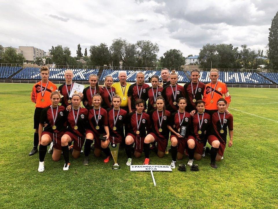 Спортсменки из Новороссийска вошли в сборную края и взяли первенство страны