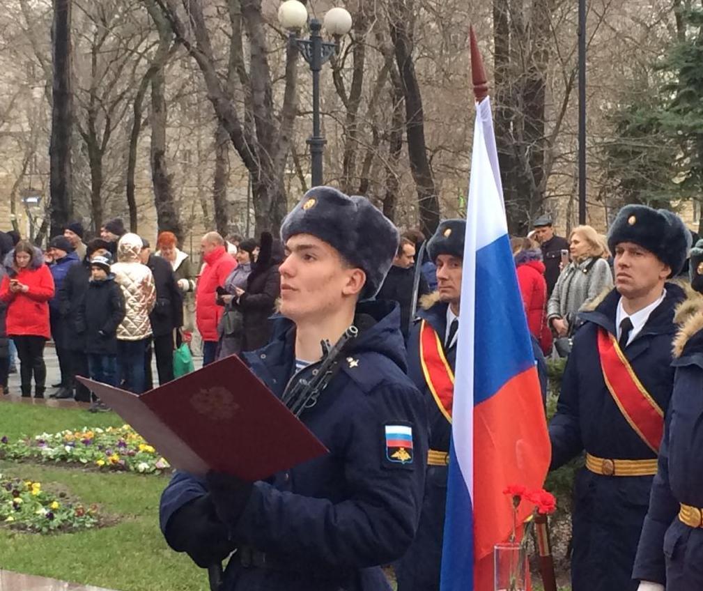 Служу России! – в Новороссийске состоялся торжественный ритуал присяги молодых воинов-десантников