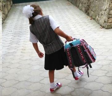 Сколько должен весить школьный рюкзак рассказали в Роспотребнадзоре